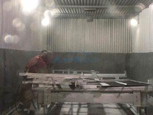 Окраска металлоконструкций любого типа в собственном цеху