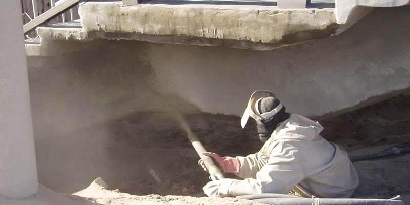 Фото антикоррозийной защиты повреждений бетона